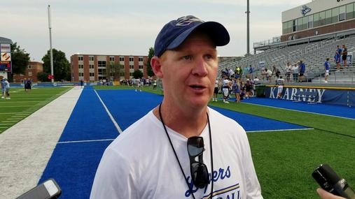 Coach Josh Lynn on the play of the defense