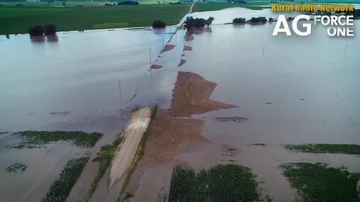 Drone Footage - West Point, NE Flooding