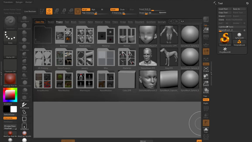 zbrush6 day1.mp4