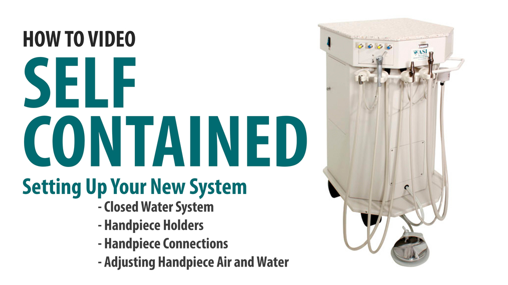 Prep the ASI Self-Contained Cart for Streamline Use - Units prior to 2018 [66-7002]