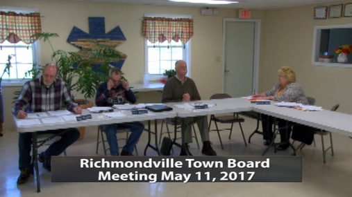 R'ville Twn. Board -- 5-11-2017
