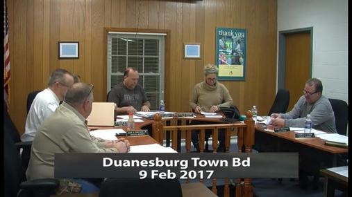 Duanesburg Town Bd_9 Feb 2017