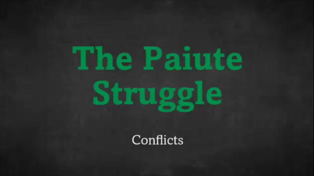 Paiute Conflicts