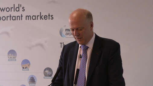 Chris Grayling Secretary of State for Transport