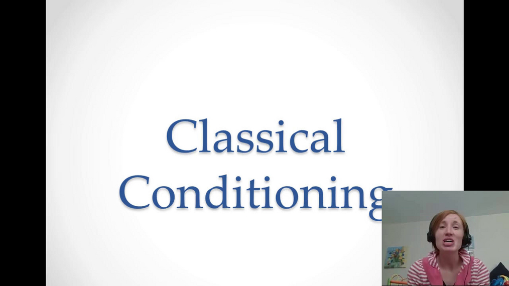 Classical conditioning camtasia project