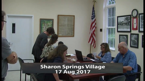 Sharon Springs Village -- 17 Aug 2017