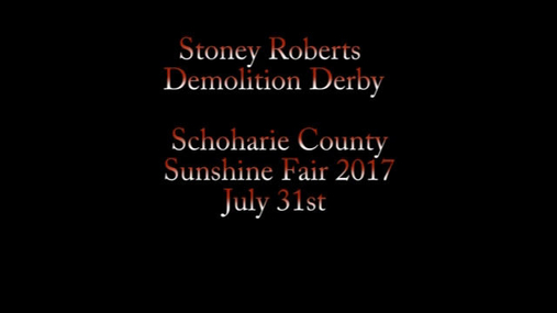 Demo Derby 7-31-2017