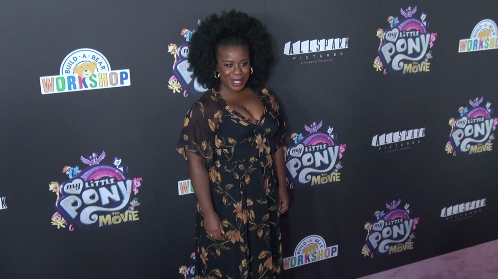 Uzo Aduba at the My Little Pont The Movie Premiere at AMC Lincoln Square Theater in New York.mp4