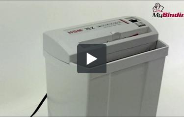 Hsm 70.2 strip cut paper shredder