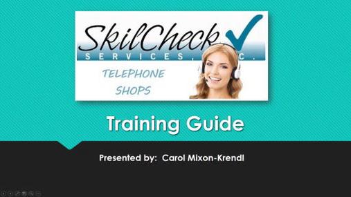 Telephone Mystery Shop Training - SkilCheck, Inc..wmv