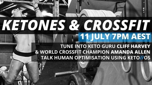 Ketones and Crossfit - Amanda Allen & Cliff Harvey