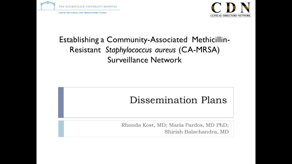 Dissemination and Reporting of Research Findings- A Community Health Center Engaged Process