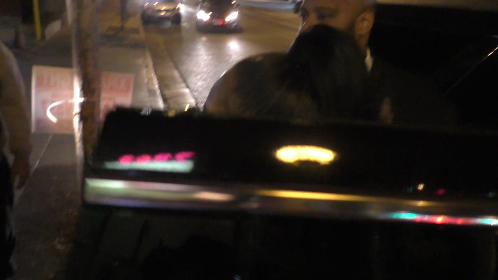 Ashanti outside Delilah's Nightclub in West Hollywood.mp4
