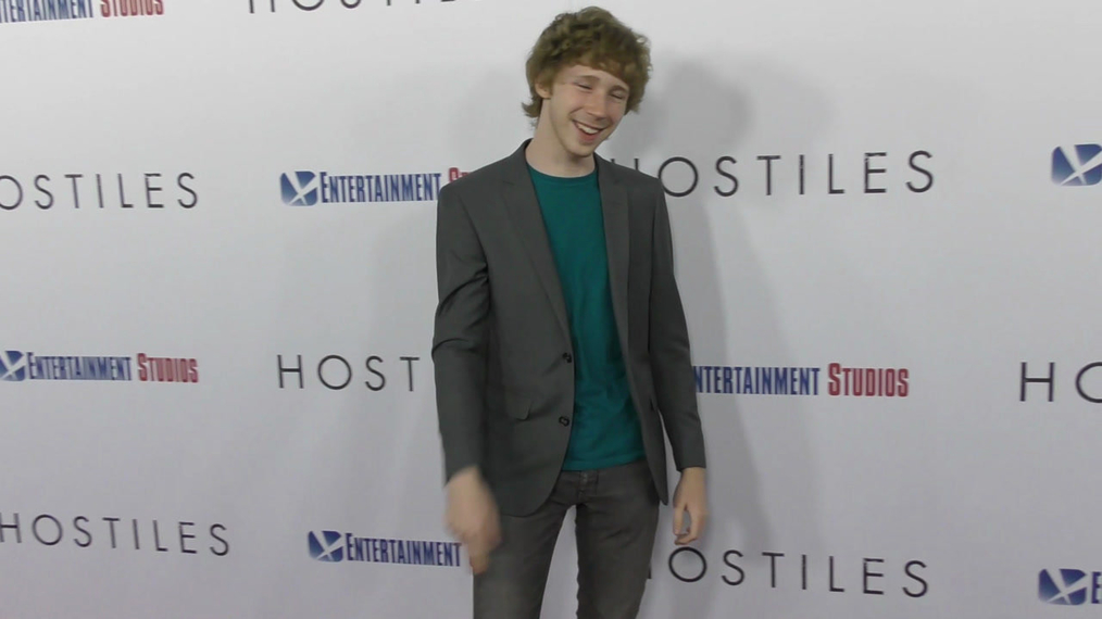 Joey Luthman at the Hostiles Premiere at Samuel Goldwyn Theater in Beverly Hills.mp4