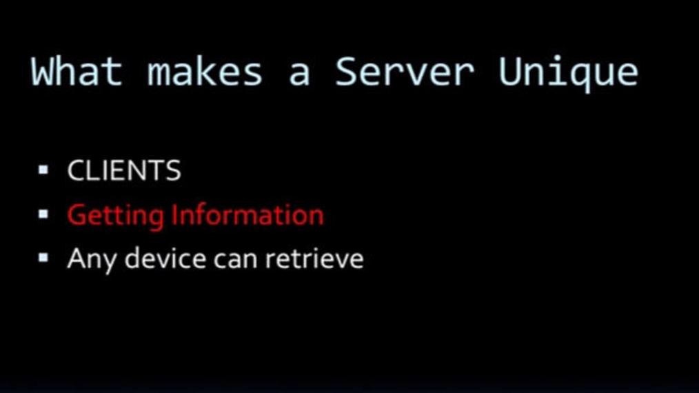 What makes a server unique.mp4