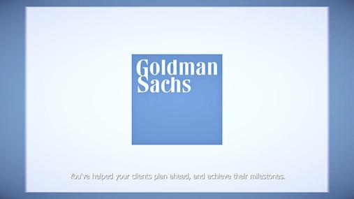 Goldman Sachs Select Sales Meeting Reel Subtitled Booth Video