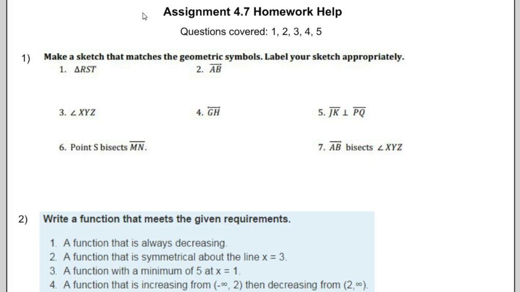 Assignment 4.7 Homework Help.mp4