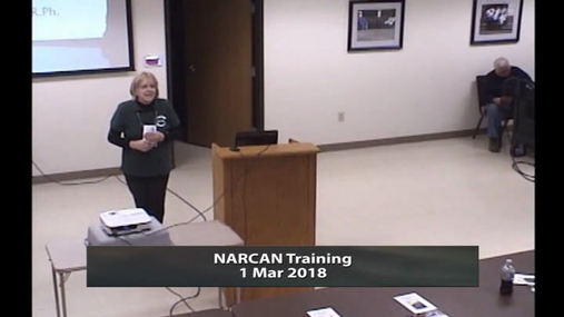 NARCAN Training -- 1 Mar 2018