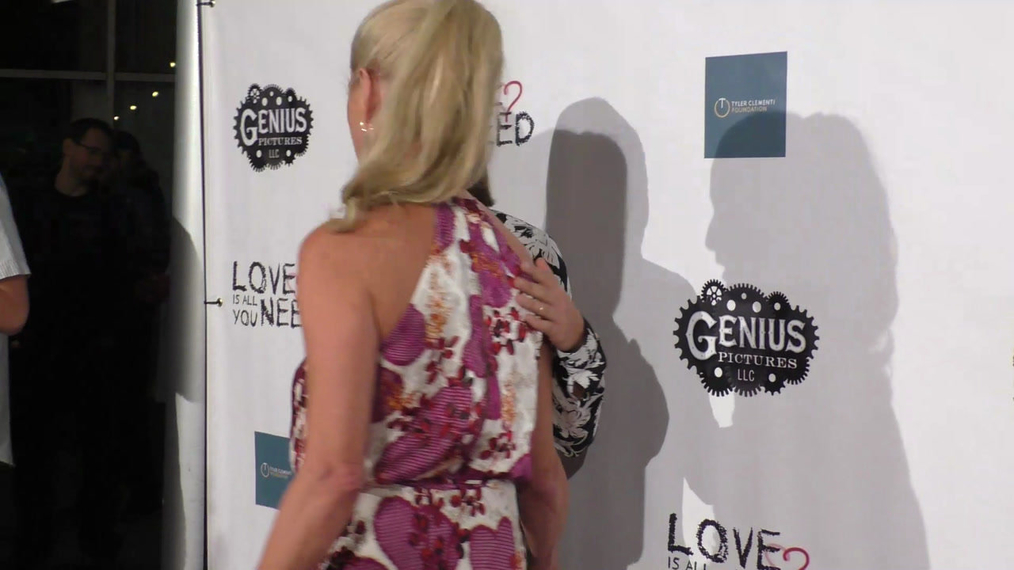 Briana Evigan and Katherine LaNasa at the Premiere Of Love Is All You Need at the ArcLight Theatre in Hollywood.mp4