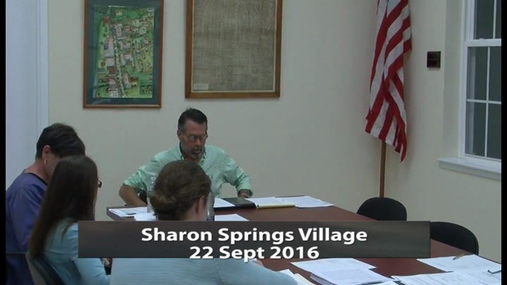 Sharon Springs Village -- 22 Sept 2016