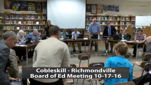 CRCS Board of Ed -- 10-17-16