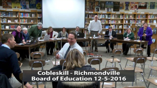 CRCS Board of Ed -- 12-5-2016