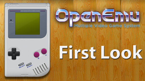 First Look: OpenEmu Classic Game Emulator
