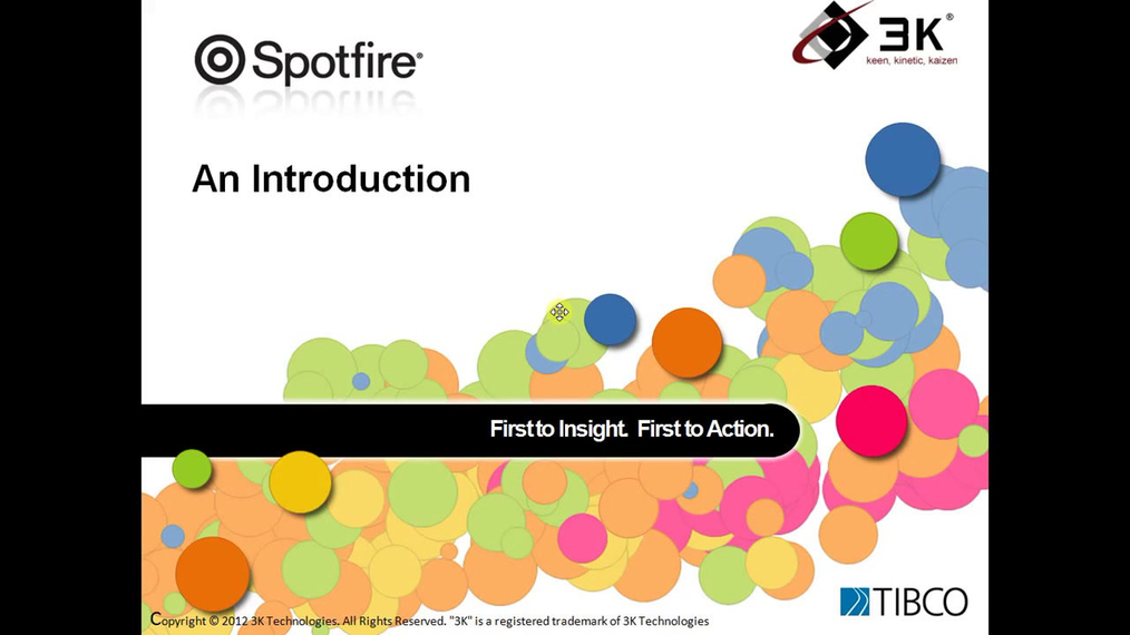 ▶ Overview of Spotfire