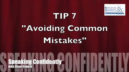 Speaking Confidently Tip 7 - Avoiding Common Mistakes.mp4