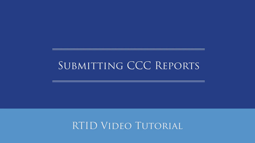 Submitting CCC Reports.mp4