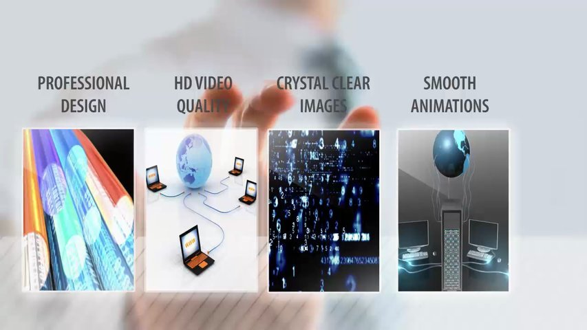 Create this modern video promoting your business, product or service in HD