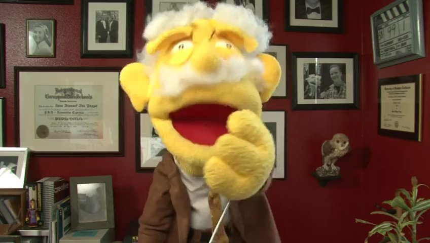 Record a custom video about anything you like by Professor Hans Von Puppet