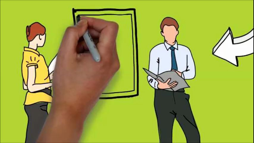 Create a hand-drawn whiteboard animation explainer video