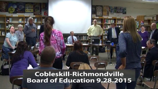 CRCS Board of Ed 28 Sept 2015 Pt. 1