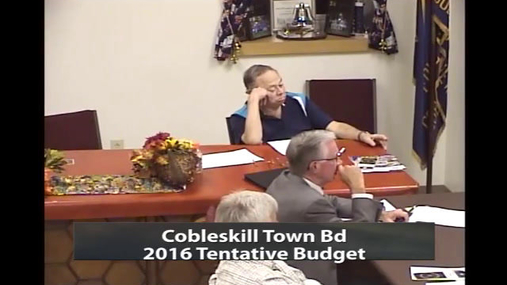 Cobleskill Town Bd 13 Oct 2015