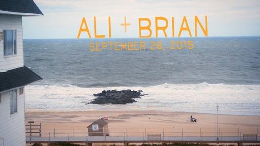 Ali and Brian