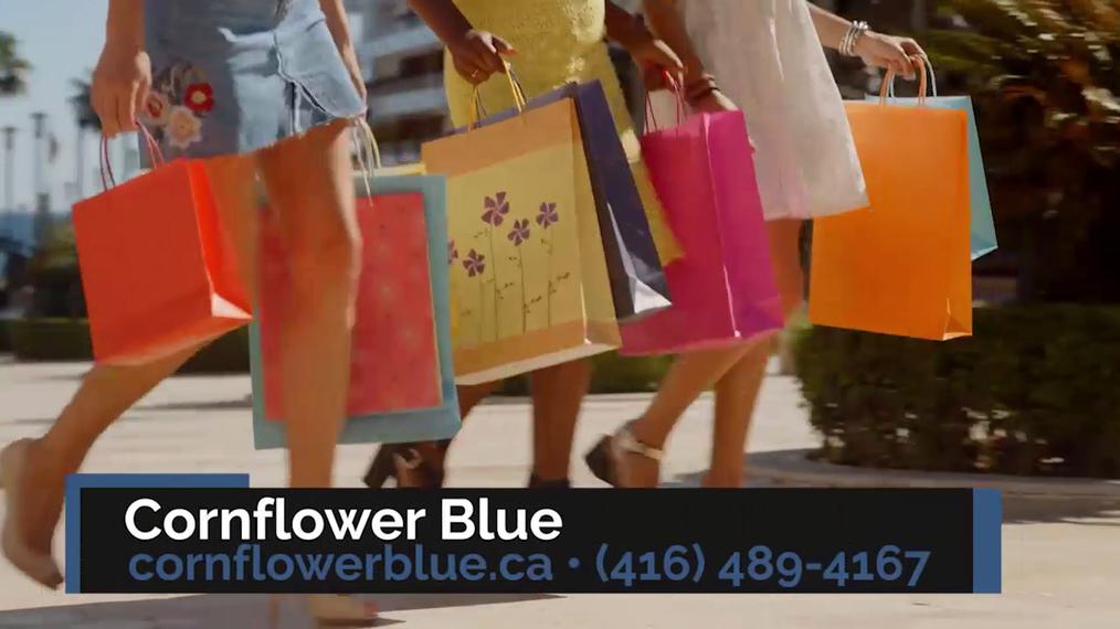 Women's Clothing in Toronto ON, Cornflower Blue
