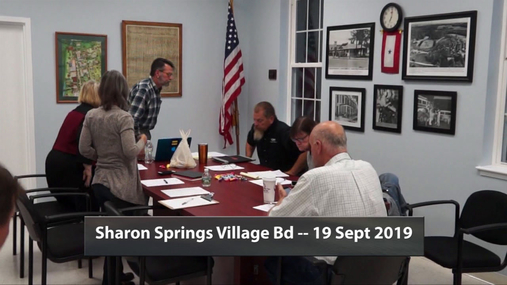 Sharon Springs Village -- 19 Sept 2019
