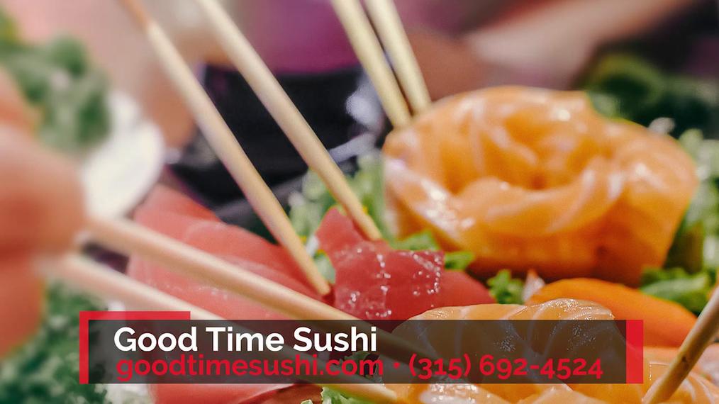 Japanese Restaurants in Manlius NY, Good Time Sushi