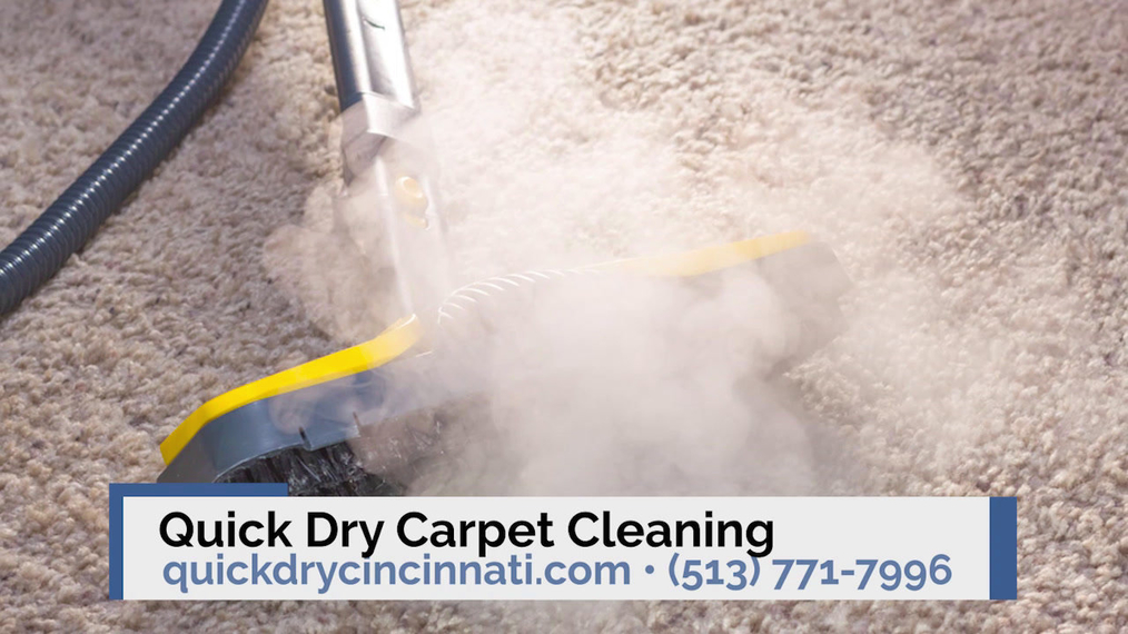 Carpet Cleaning in Cincinnati OH, Quick Dry Carpet Cleaning