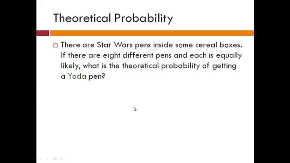 Theoretical and Experimental Probability Review.mp4