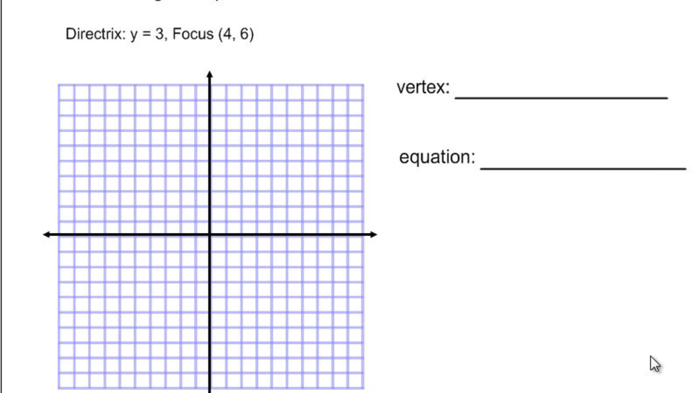 Writing the Equation of a Parabola.mp4