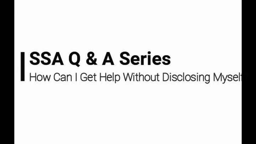 05 SSA Q&A Video 5/8