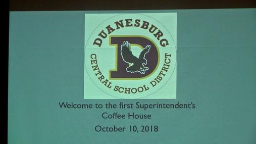 DCS Coffee House -- Oct. 10, 2018