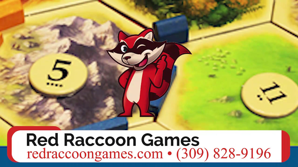 Board Games in Bloomington IL, Red Raccoon Games