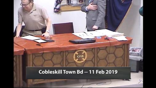 Cobleskill Town Bd -- 11 Feb 2019