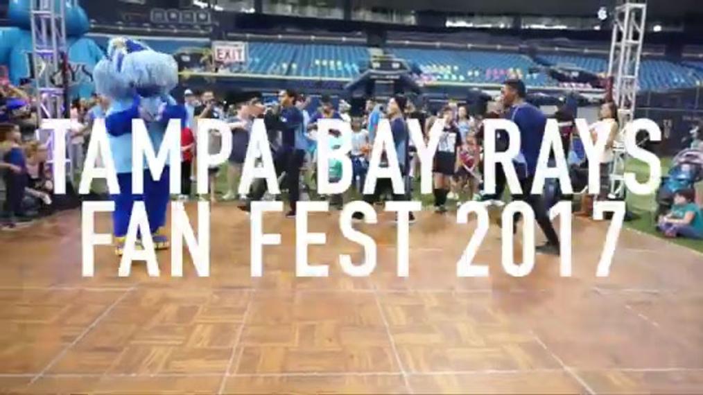Break Dancer R.M. (Rays Fan Fest)