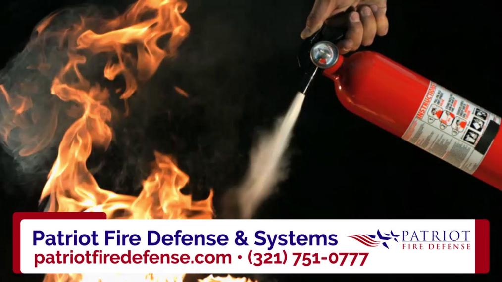 Fire Suppression Systems in Melbourne FL, Patriot Fire Defense & Systems