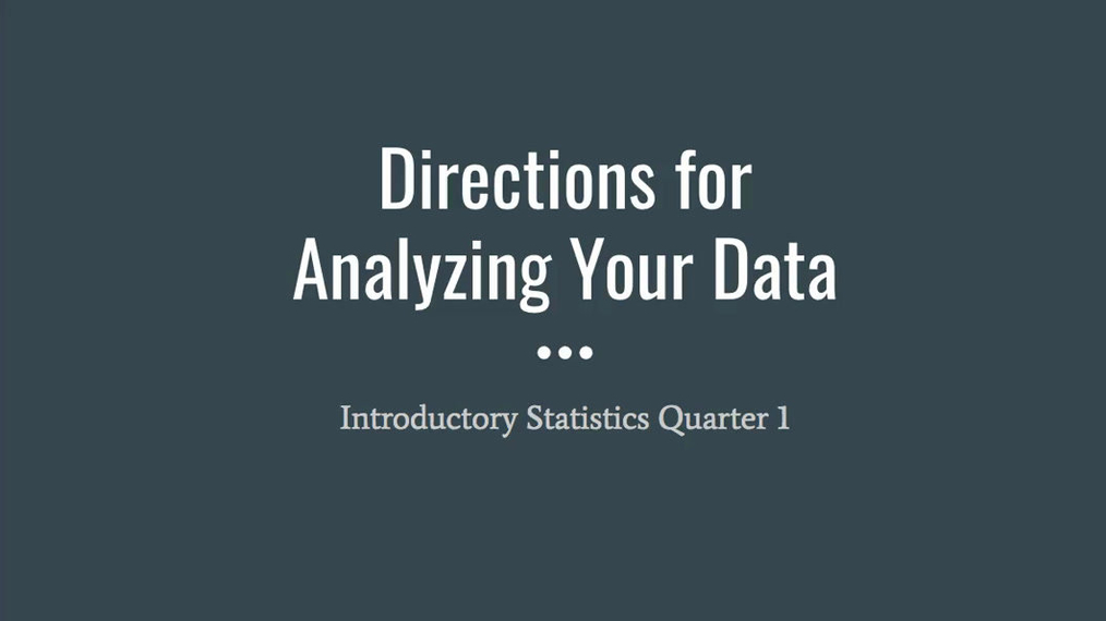 NEW Step 4 - Analyzing Your Data.mp4