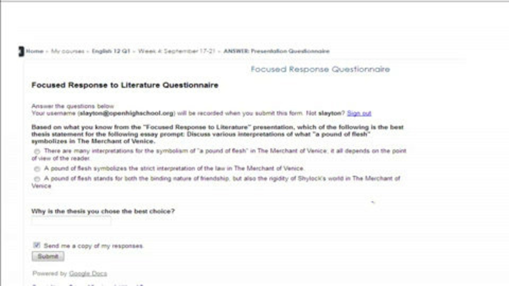 Focused Response to Lit. Questionnaire Explanation.mp4